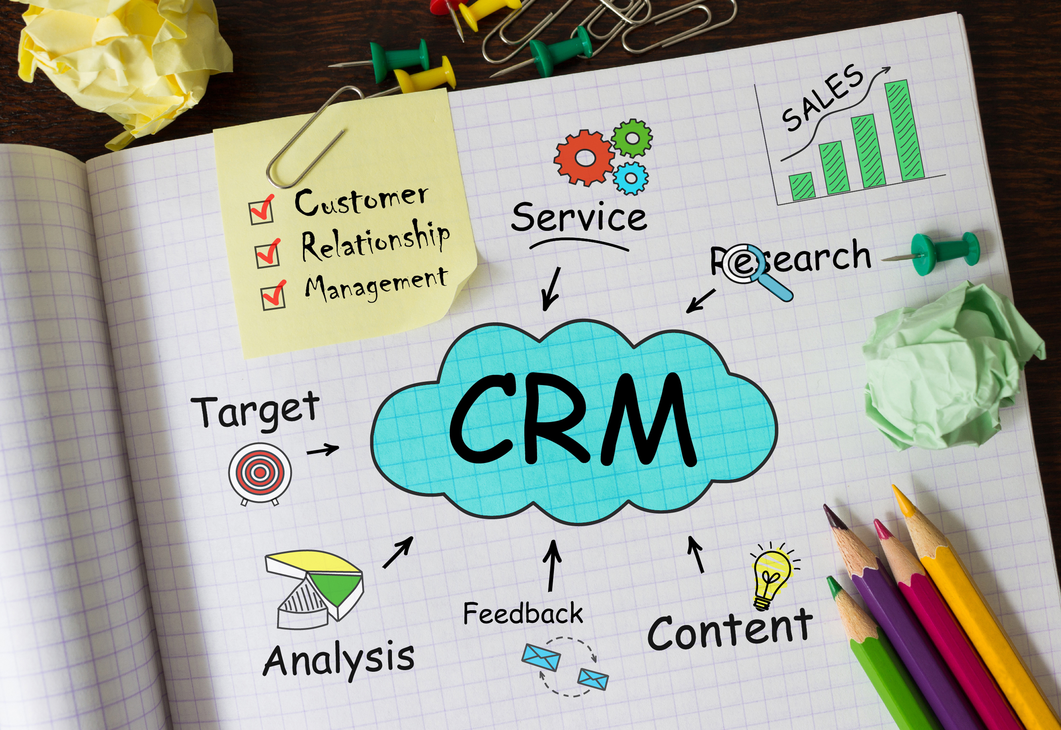 Picture to illustrate VMS CRM